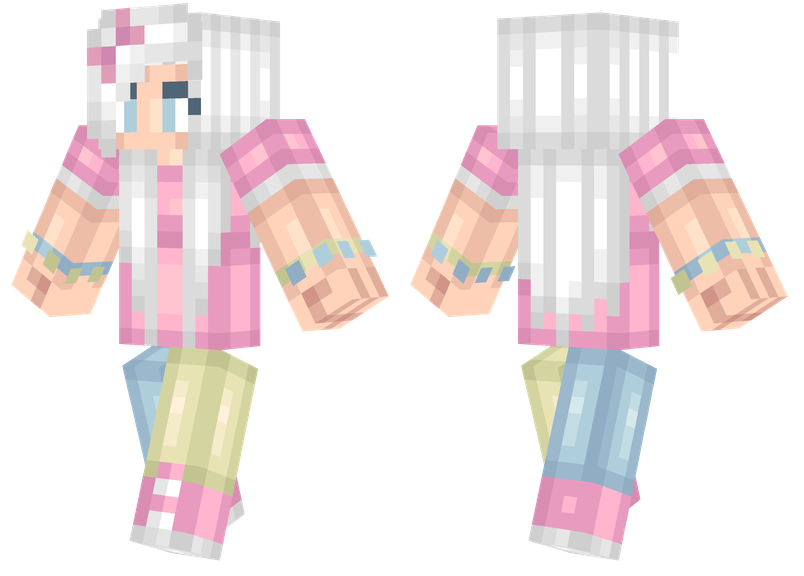 Aesthetic Minecraft Skins Pink