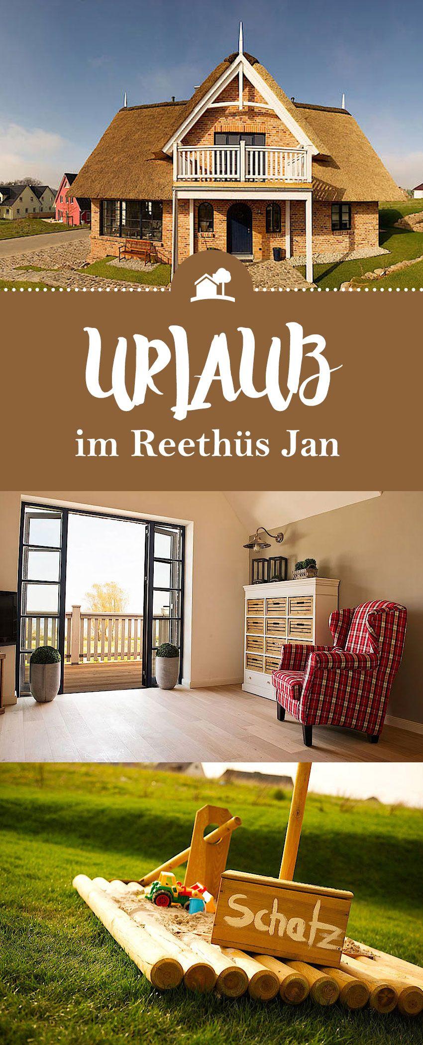 """Willkommen in unserem ganz besonderen Ferienhaus """"Reethüs"""