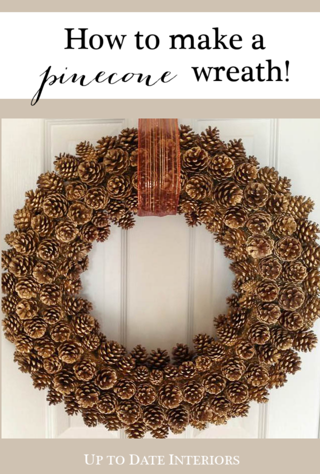 How to Make a Perfect Pinecone Wreath with Easy Tips