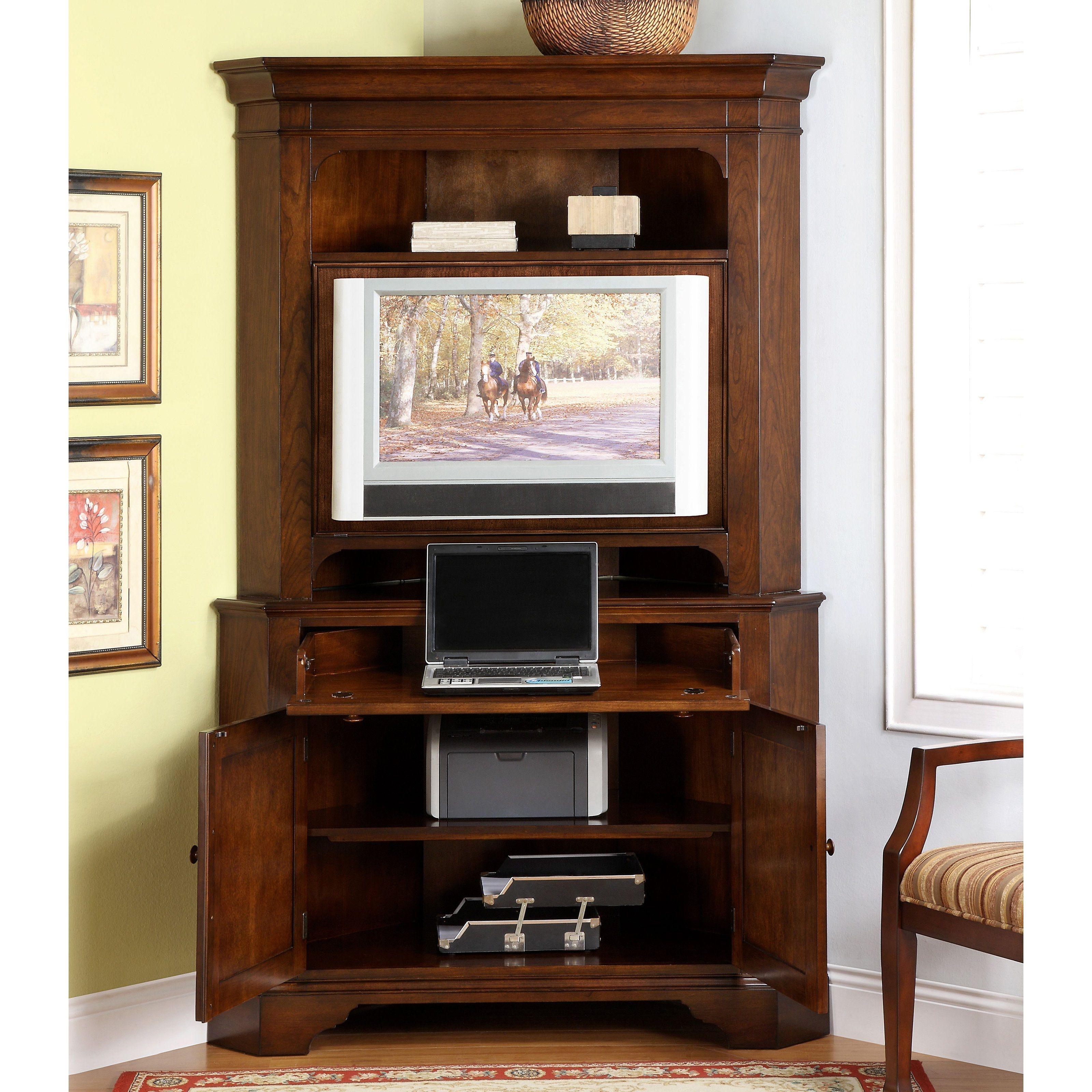 Corner Computer Cabinet With Doors Httpfranzdondi