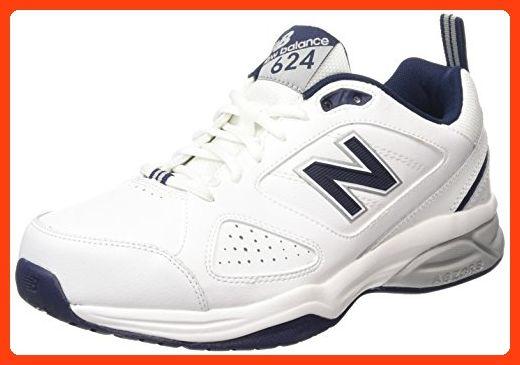 New Balance MX624WN4, Herren Hallenschuhe , Weiß - Weiß - Größe ...