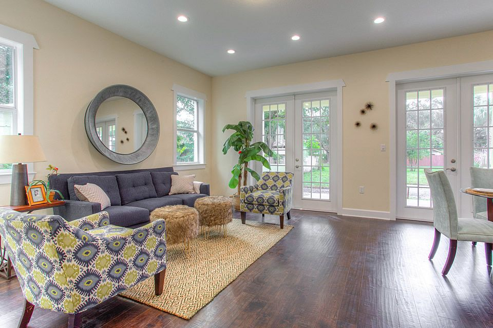 Ordinary Great Rooms Tampa Part - 4: The Sundial | DKV Tampa Homes | Great Room And French Doors