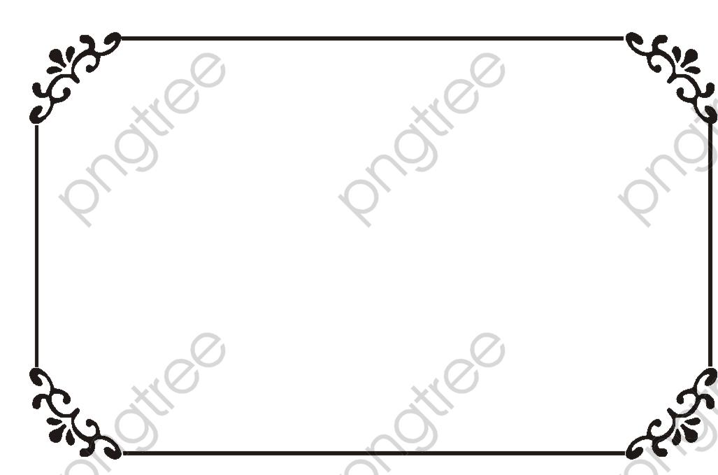 Retro Borders Png Clipart Png Clip Art Vector Free