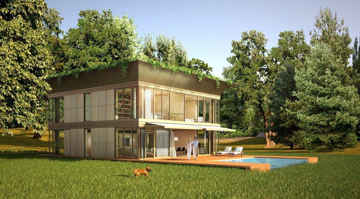 Maison en bois philippe starck ventana blog - Maison en kit ecologique ...