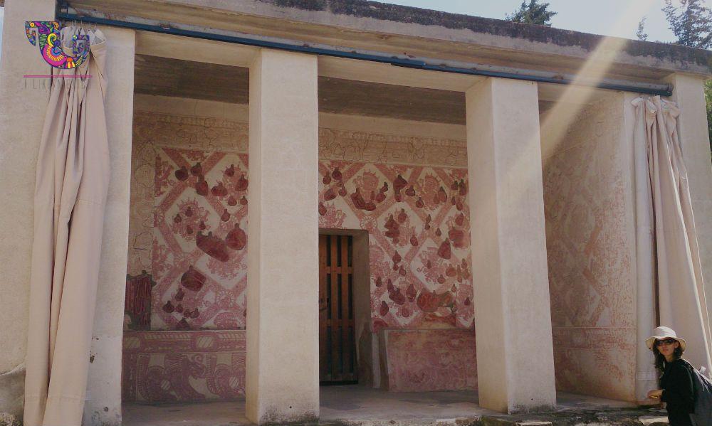 Las casas de los teotihuacanos estaban revestidas de pintura mural. #Teotihuacan #Turismo #EstadoDeMéxico #Arqueología #Historia #Cultura #Diversión