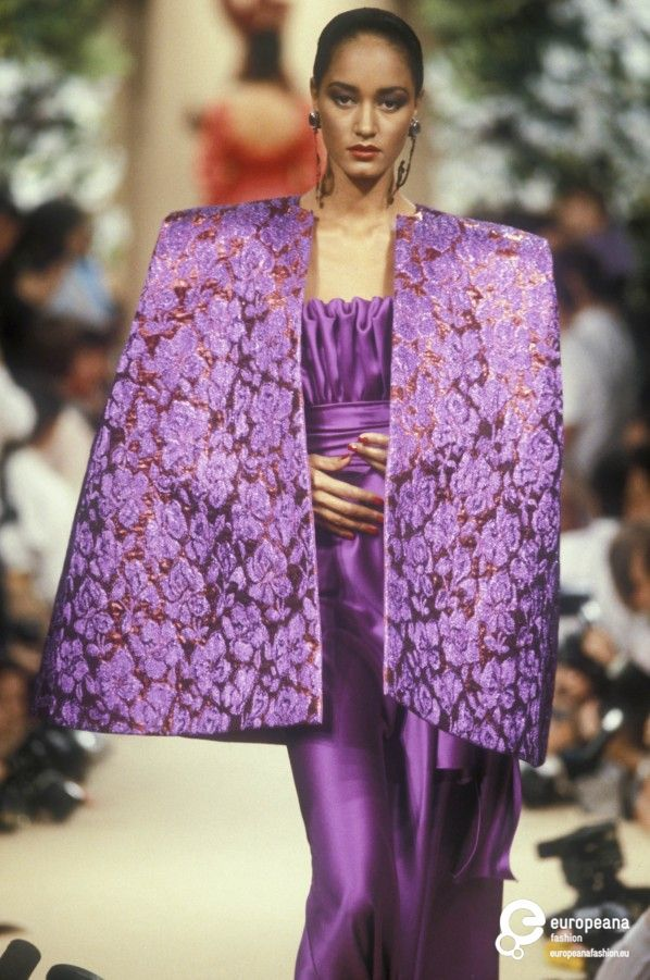 Yves Saint Laurent, Autumn-Winter 1989, Couture | Fashion ...