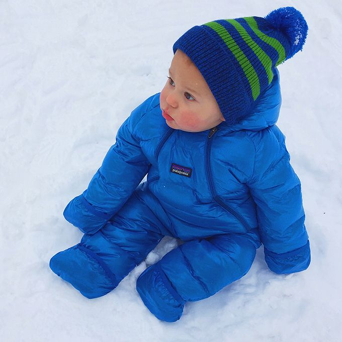 Montana Snow Baby Snowsuit Baby In Snow Baby Boy Outfits