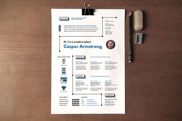 I Like This Hipster Resume Cover Letter By Artalic On Creative Market