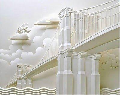 Uday Fun Blog: Paper Sculpture
