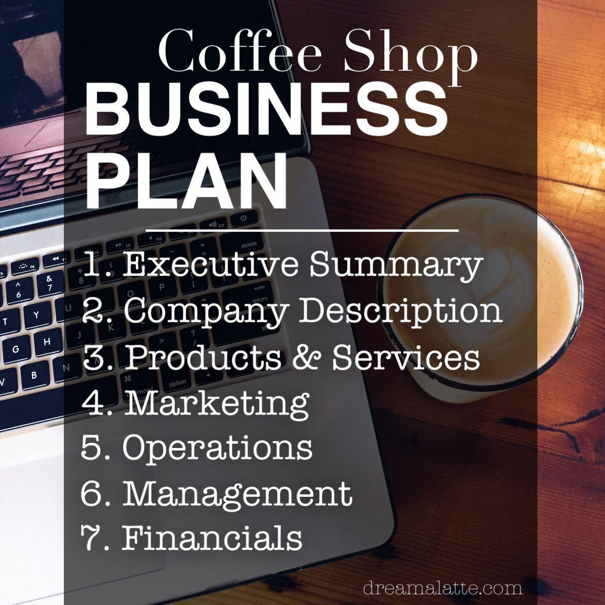 The Coffee Shop Business Plan Dream A Latte Coffee Shop Business Coffee Shop Business Plan Starting A Coffee Shop