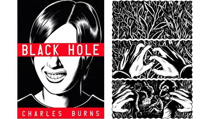 black hole graphic novel-#13