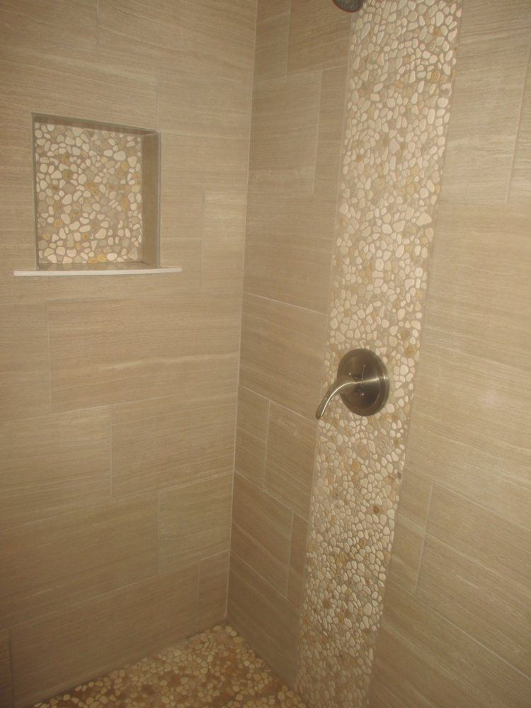 Bohemian Tile and Marble - San Diego, CA, United States. Shower - 12 x 24…