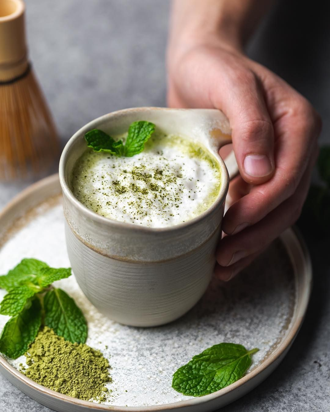 Start Your Day With This Amazing Matcha Latte 😍💚 Use This