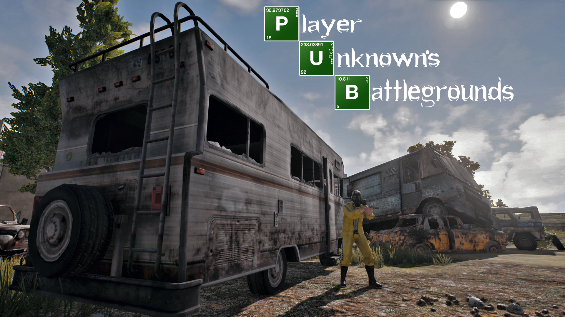 Made A PUBG Wallpaper Of Breaking Bad 1920 X 1080