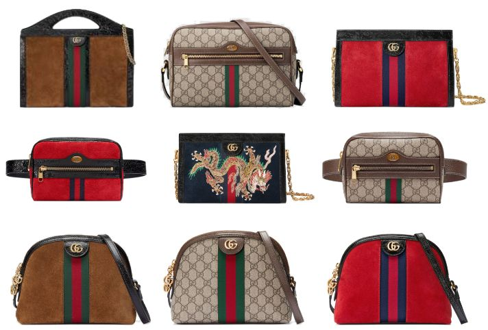 Il magico mondo di Gucci  le nuove borse vintage 509fd13b77a9