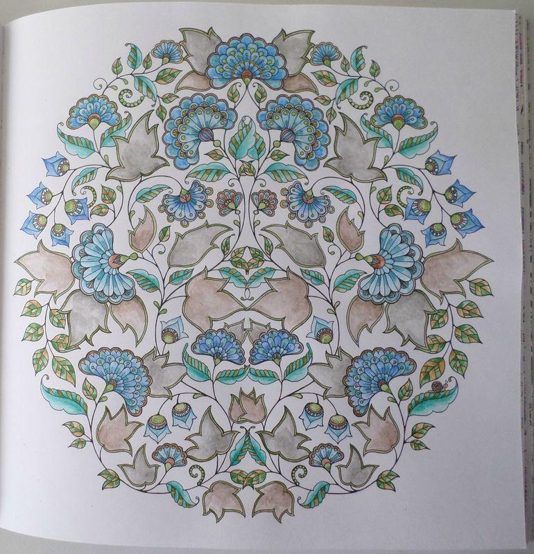 Jardin Secret Johanna Brasford | Zentangle & Coloring Inspiration | Coloriage jardin secret ...
