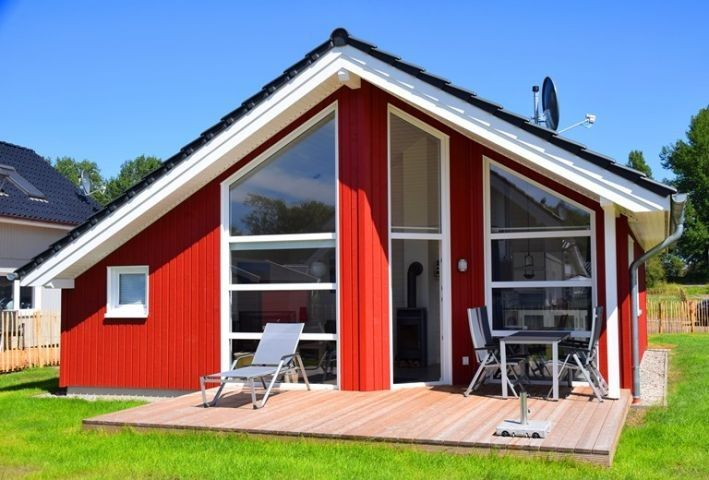 Ostsee Ferienhaus Hygge Hus, WLAN, Sauna, Kamin