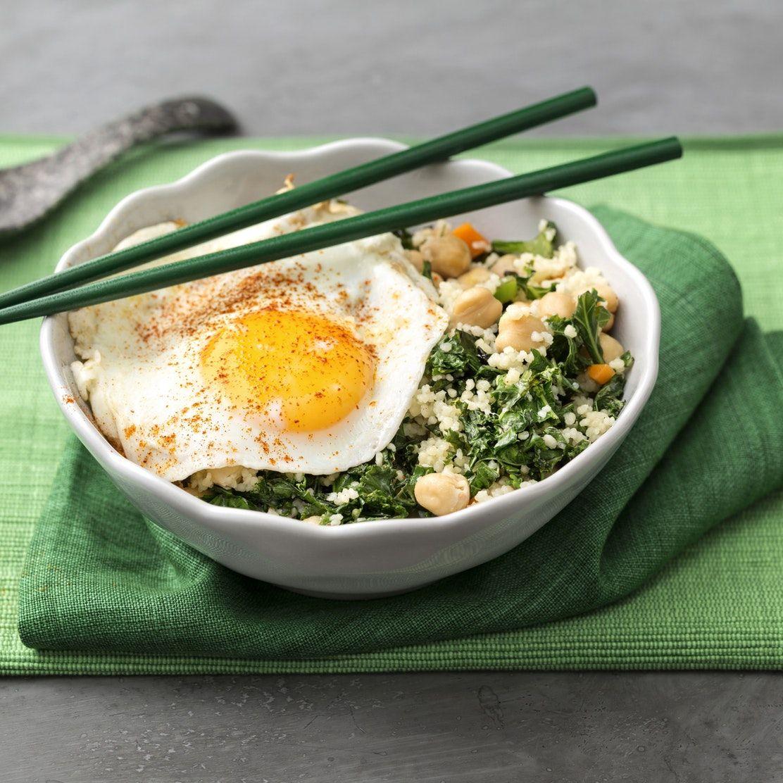 maträtter med ägg