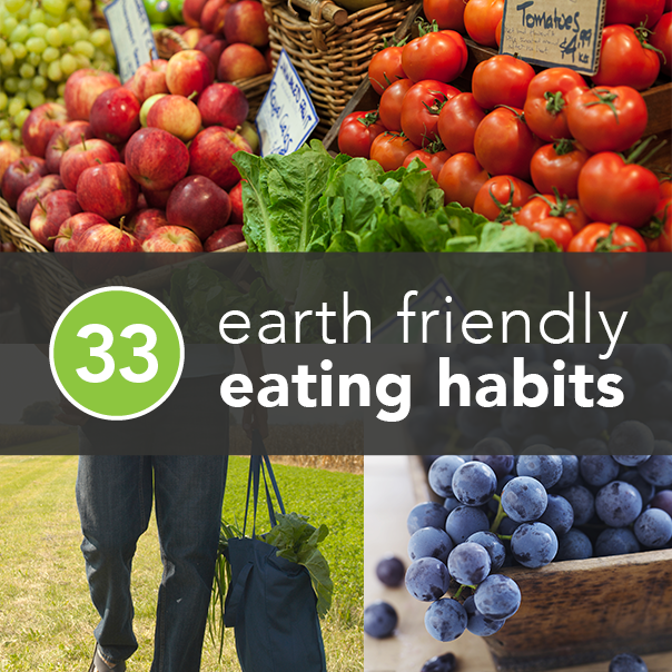 001 33 Environmentally Friendly Eating Habits Sustainable