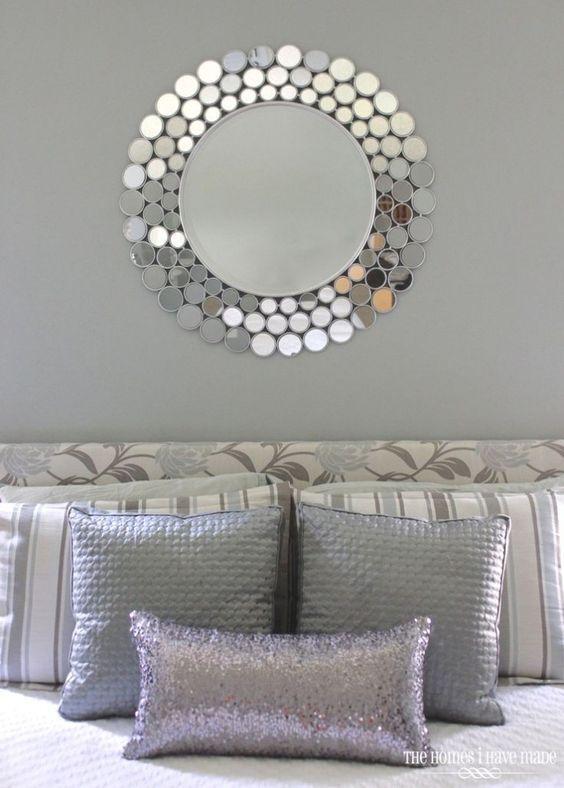 Espejos decorativos para sala y comedor espejos para - Espejos color plata ...