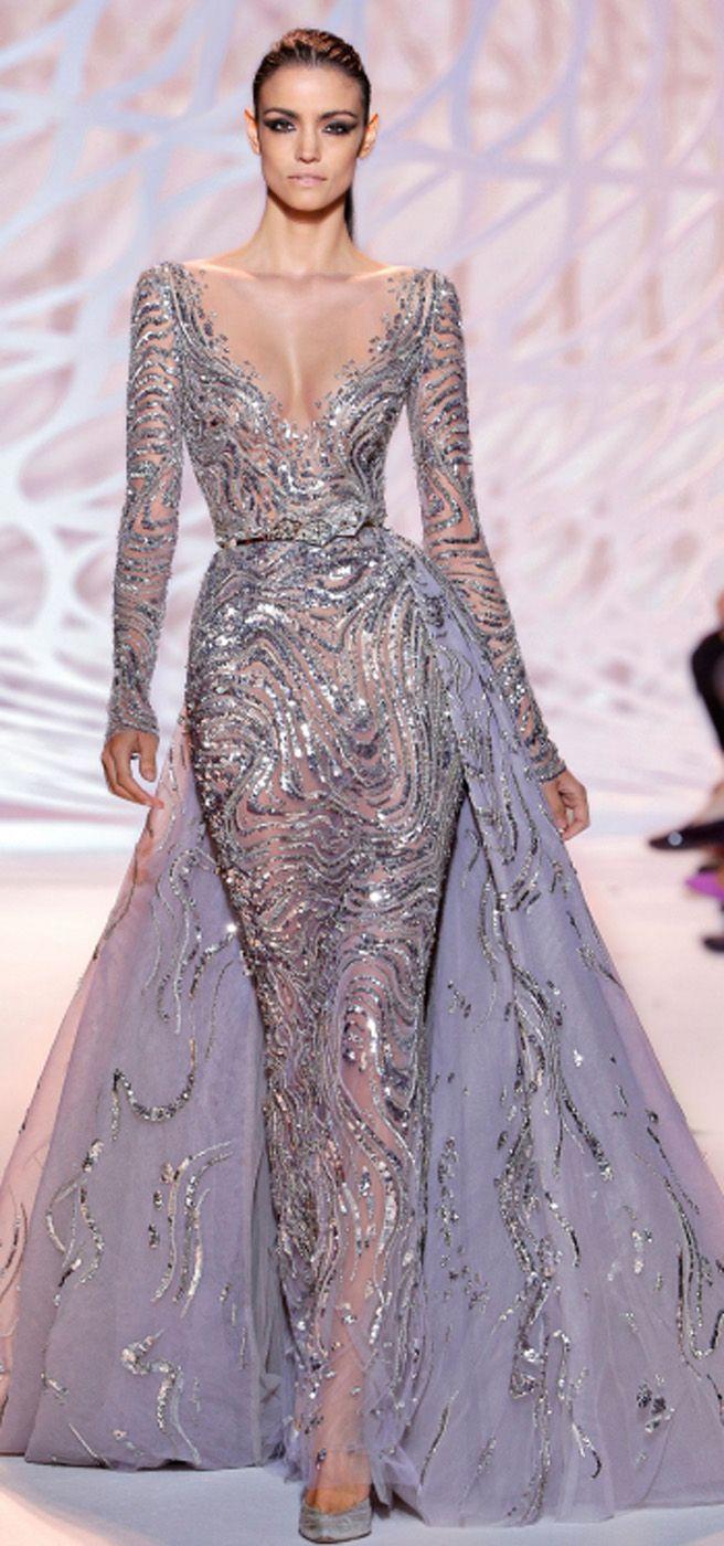 Evening dress zuhair murad beauty celebrities fashion