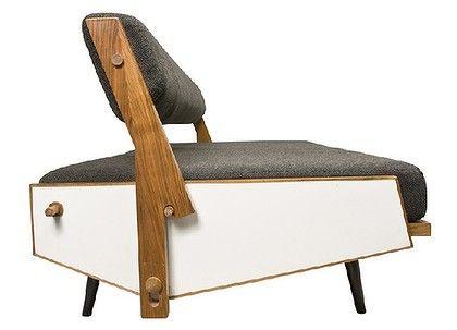 Hans Bellman , reclining sofa , 1952