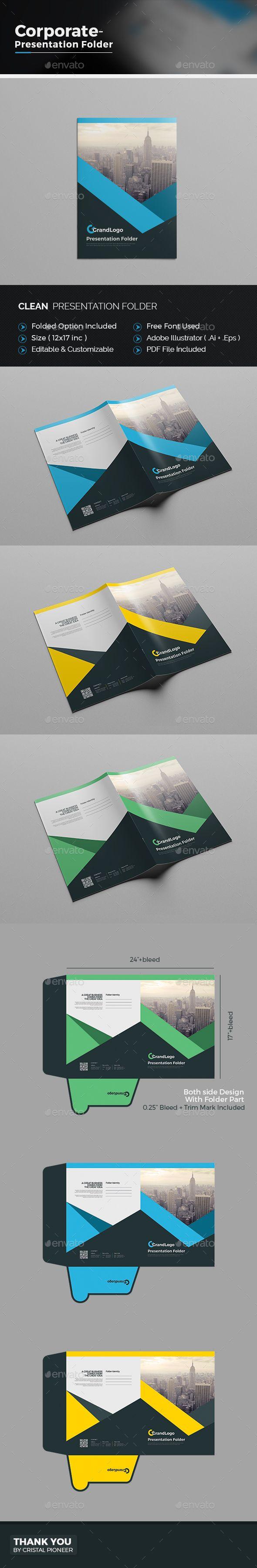 Business Presentation Folder | Pinterest