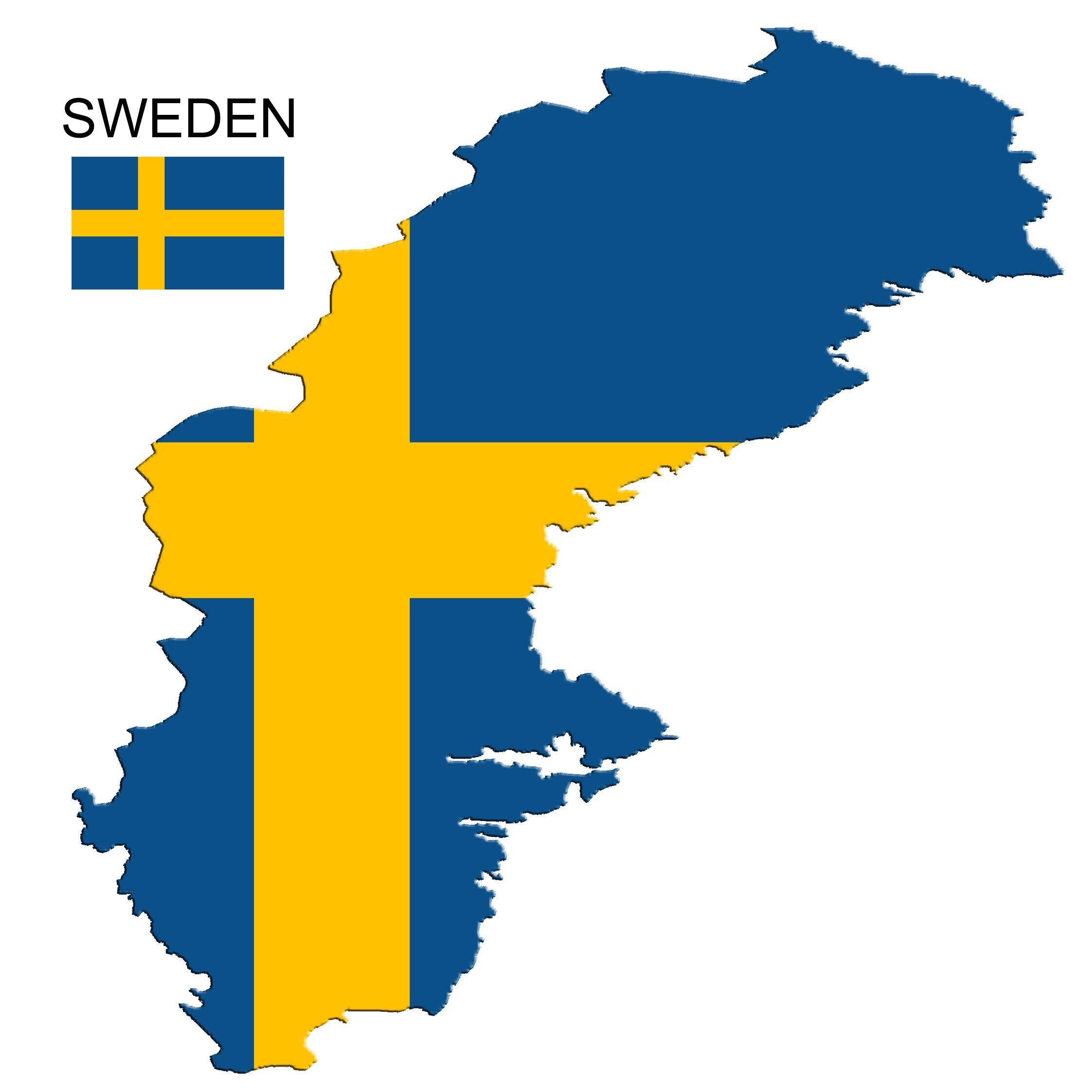 Sweden 1 Sweden Flag Map Sweden Flag Swedish Flag Flag