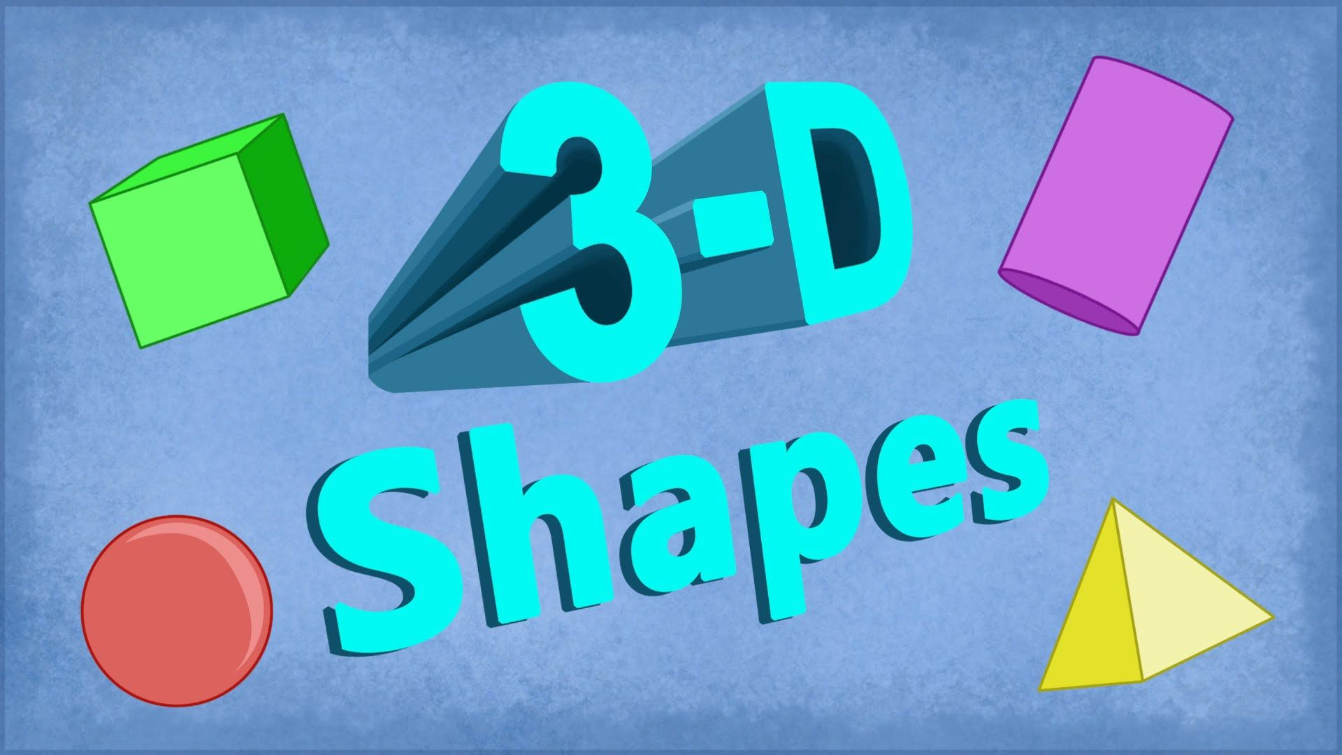 3D SHAPES Worksheets: with 3D Shapes Activities, Video, and 3D ...