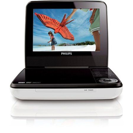 Philips 9 Inch Portable Dvd Player Pet941d Refurbished White