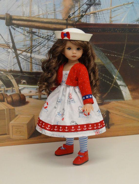 Ours marin robe bain de soleil veste et sailor par DarlingLilBee