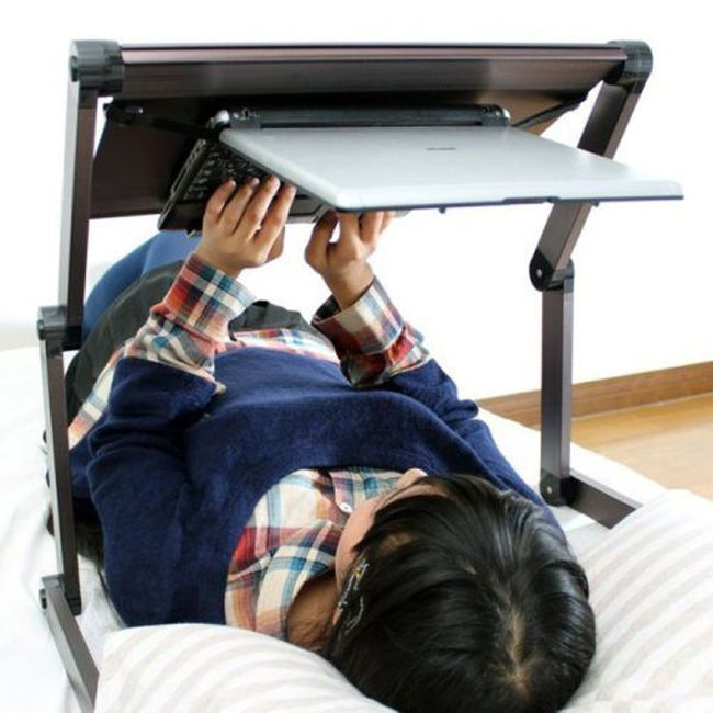 Laptop Stand Upside Down Strange Japanese Inventions Laptop