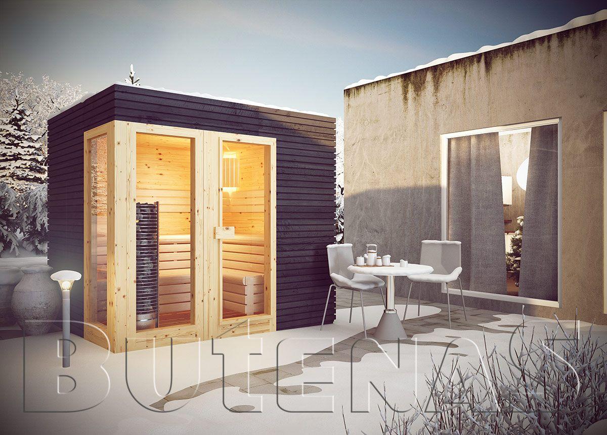 Interior Design Ausbildung design saunahaus sun ist gebaut aus 91 mm blockbohlen in stabiler
