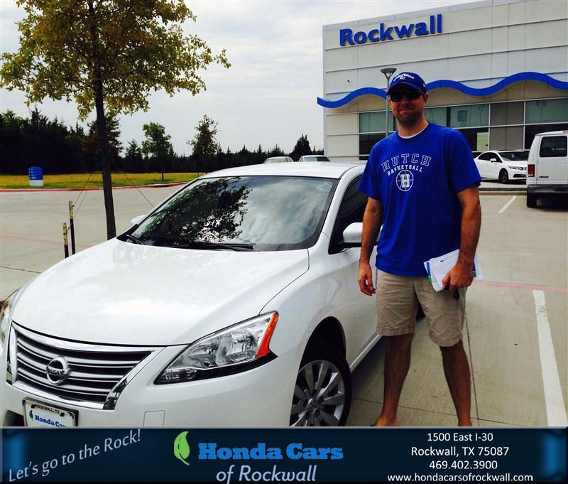 Congratulations shane on your nissan sentra from teal