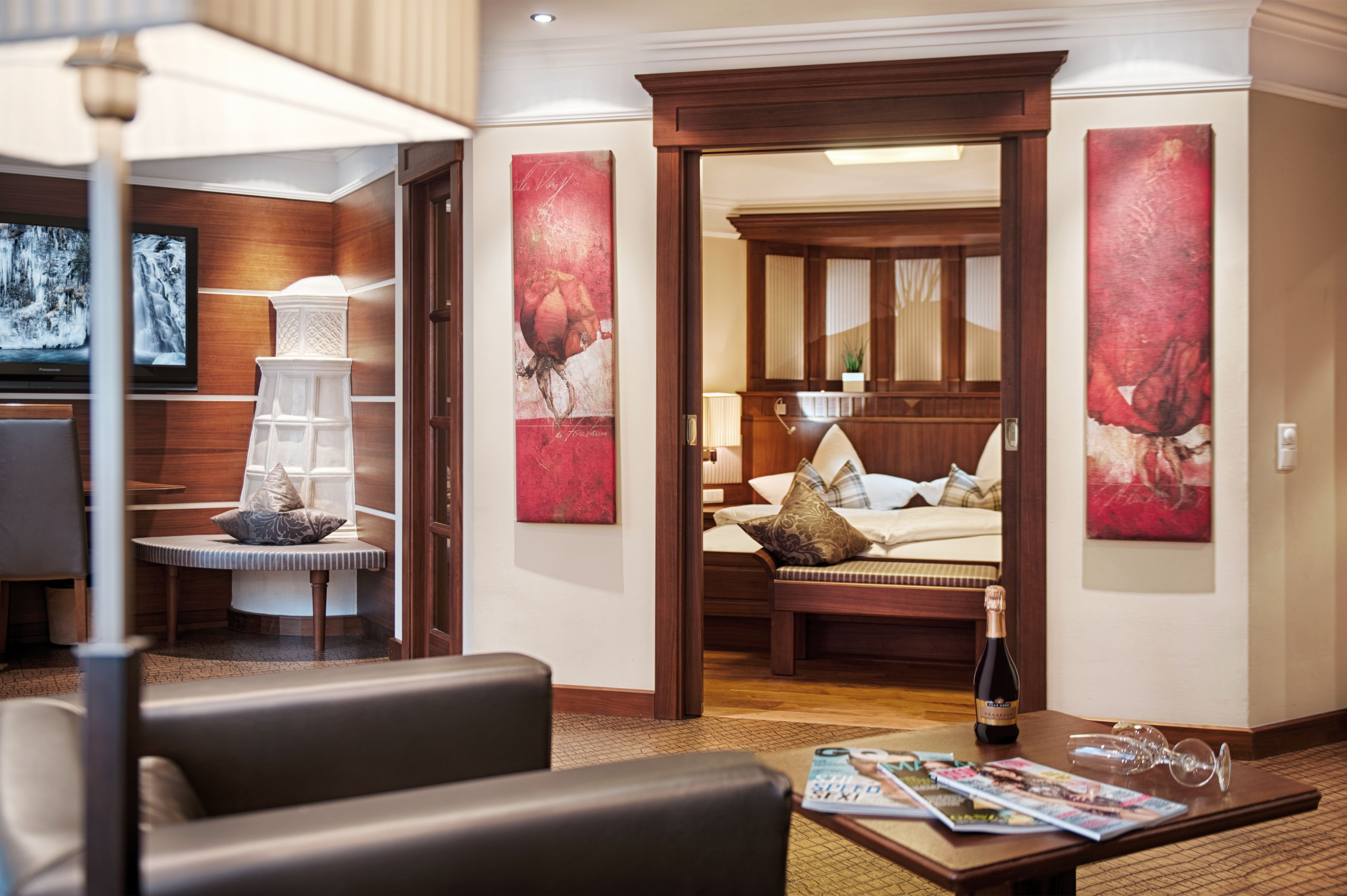 Linderhof Suite #luxury #skiresort