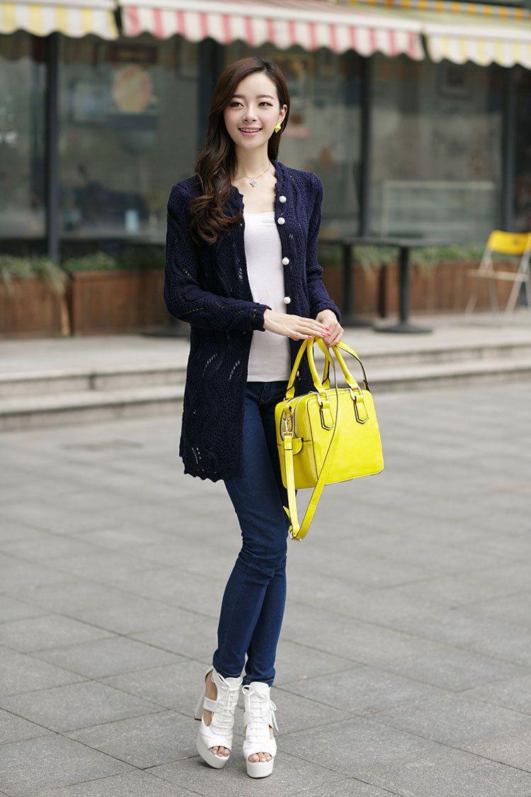 56fe100ad ropa coreana invierno para mujer - Buscar con Google | Moda Coreana ...