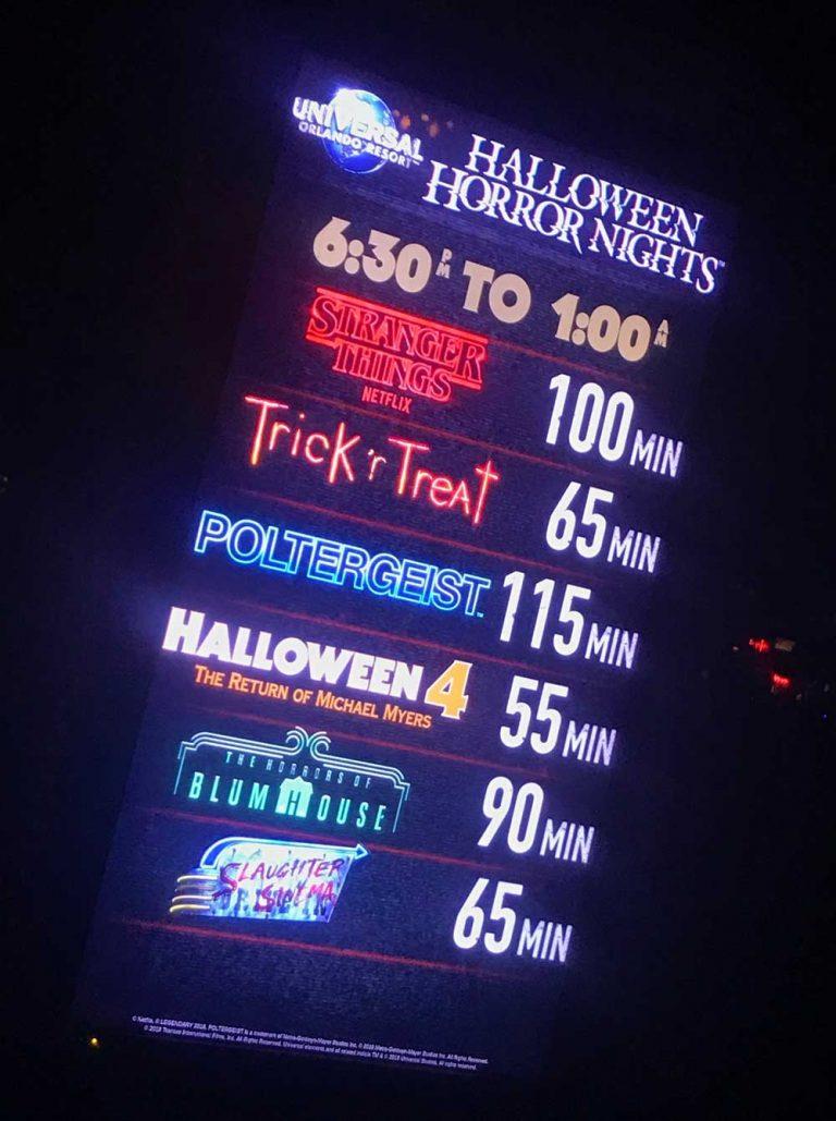 Orlando Halloween Horror Nights 2020 Houses Halloween Horror Nights Orlando 2020 Survival Guide | Halloween