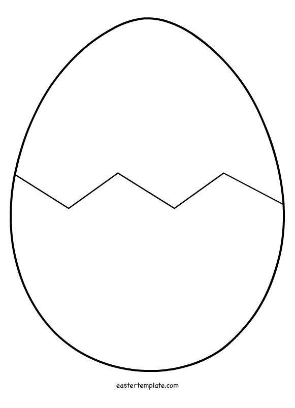 Egg Pattern Coloring Page