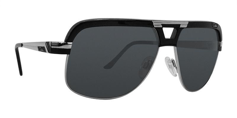 Cazal CZ658/3 Black / Black Lens Sunglasses