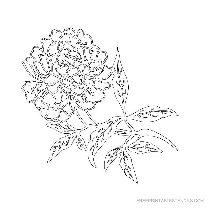 picture relating to Printable Flower Stencil identified as No cost Printable Flower Stencil F Stencil Stencil types