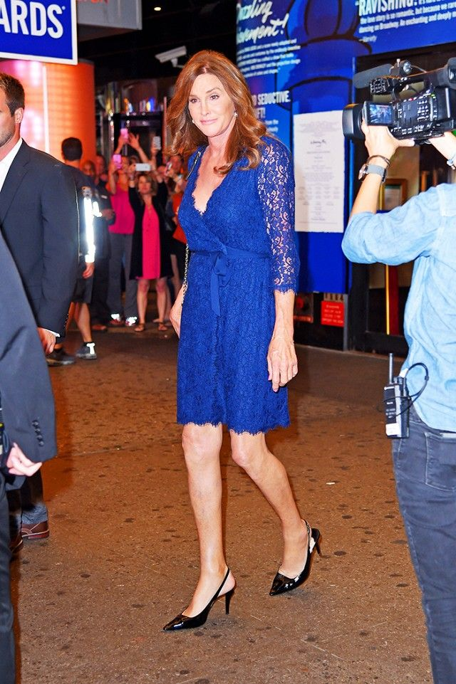 Caitlyn Jenner's Best Looks From Her New York Trip via @WhoWhatWear
