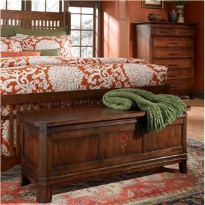Rosecroft Redlands Blanket Chest With Cedar Bottom By Kincaid Furniture    Riverview Galleries   Cedar Chest