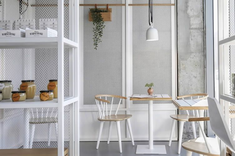 The Cold Cool Of Gdańsku0027s Communist Era Architecture Is Harnessed But  Softened At Minimalist Bakery Bio