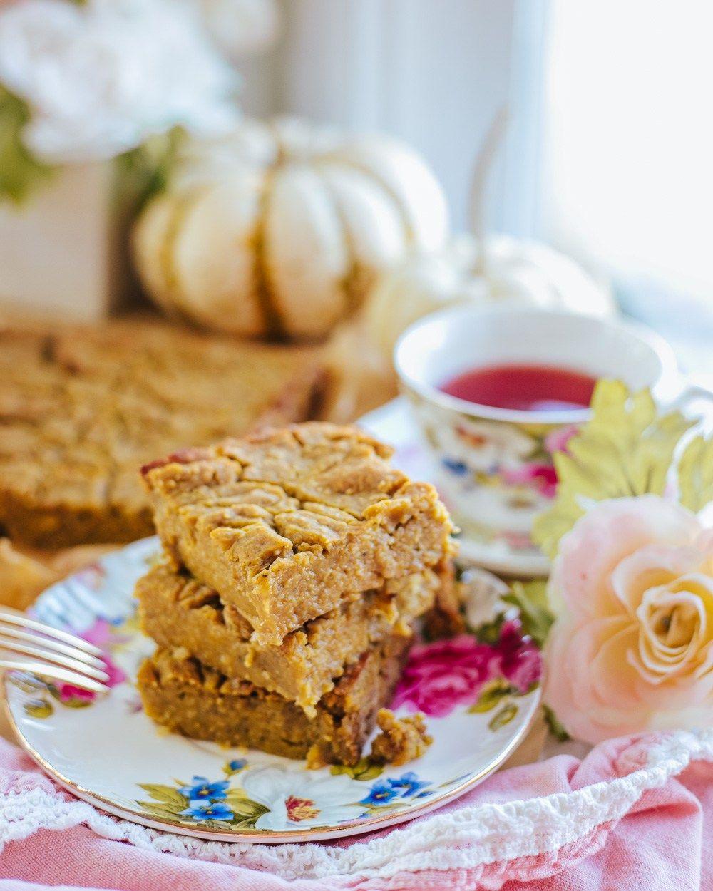 Healthy pumpkin caramel bars recipe whole food