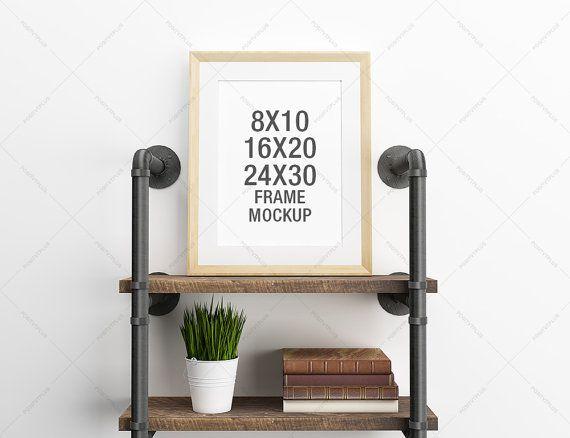 Frame Mockup 8x10 / 16x20 / 24x30 / Photography Style / Frame ...