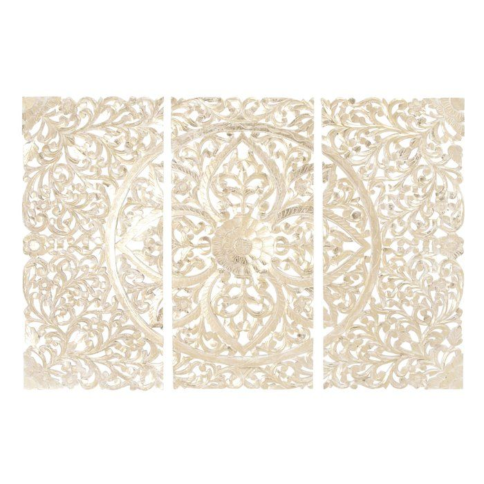 3 Piece Panel Wall Decor Set Home Related Screenshots Wood