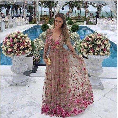 Gul Desenli Sifon Abiye Elbise 144 90 Tl Ve Ucretsiz Kargo Ile N11 Com Da Abiye Elbise Fiyati Kadin Giyim Elbise Sifon Elbise Kiyafet