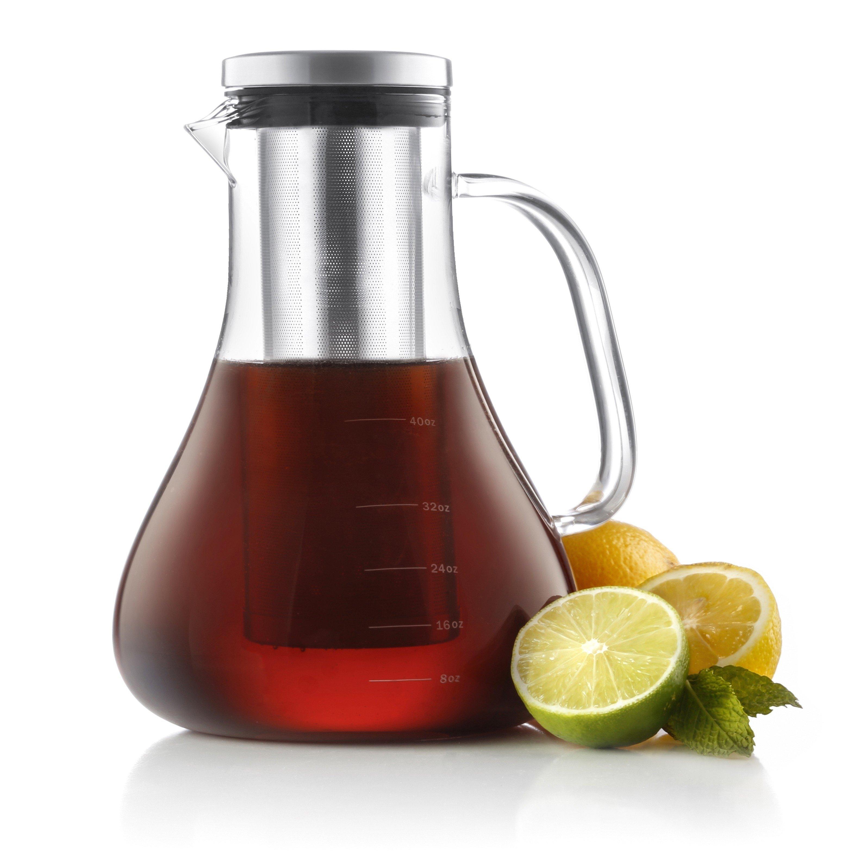 JoyJolt Infuso Cold Brew Coffee Maker, 1.5 Liter 48 Ounce