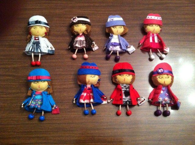Mis muñecas de fieltro