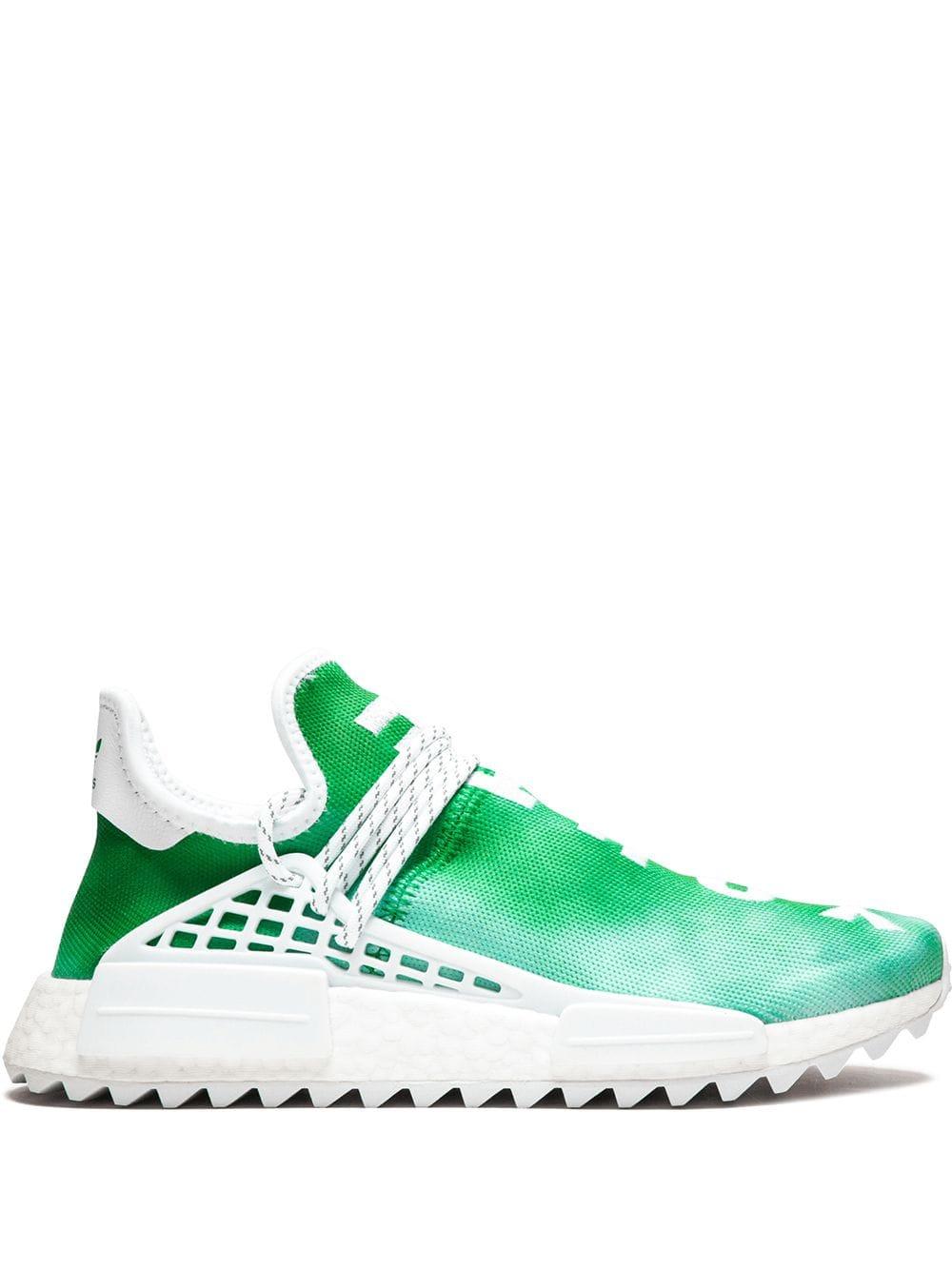 Adidas By Pharrell Williams Solar HU NMD Sneakers Farfetch